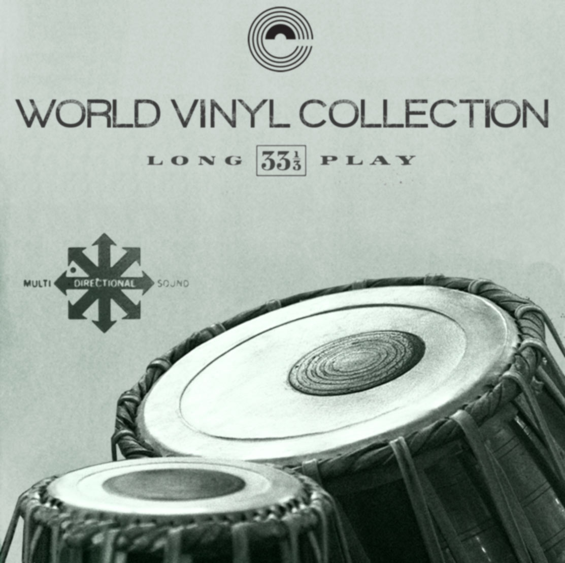 World Ethnic Vinyl Drum Samples